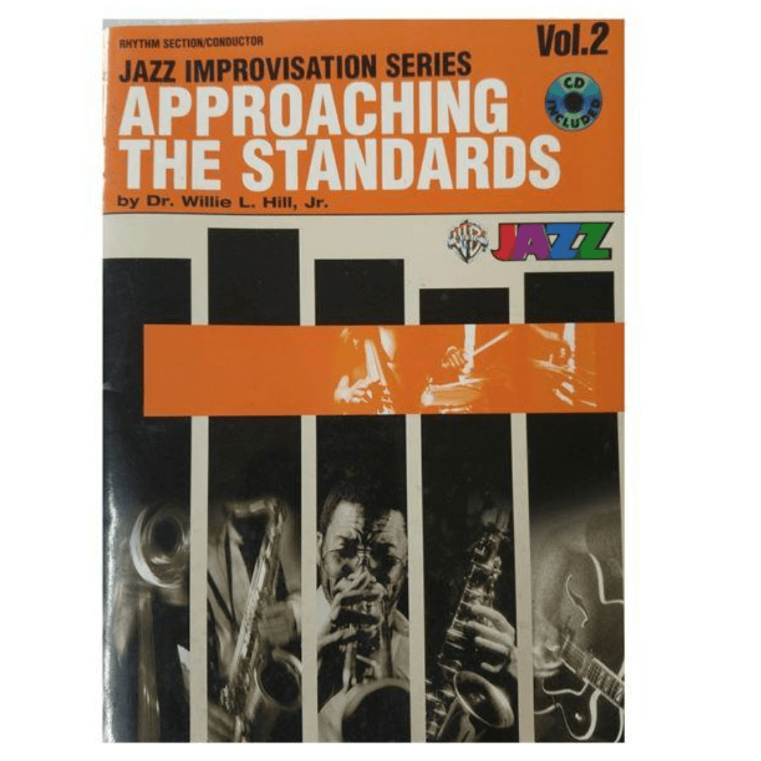 Rhythm Section / Conductor Jazz improvisation Series Approaching The Standards by Dr. Willie L. Hill  - SBM32CD