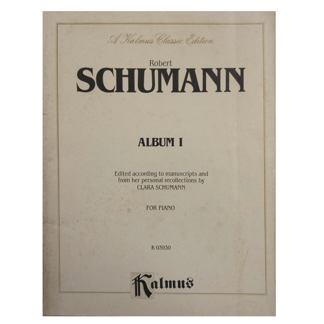 Robert Schumann Album I for Piano K03930 Kalmus