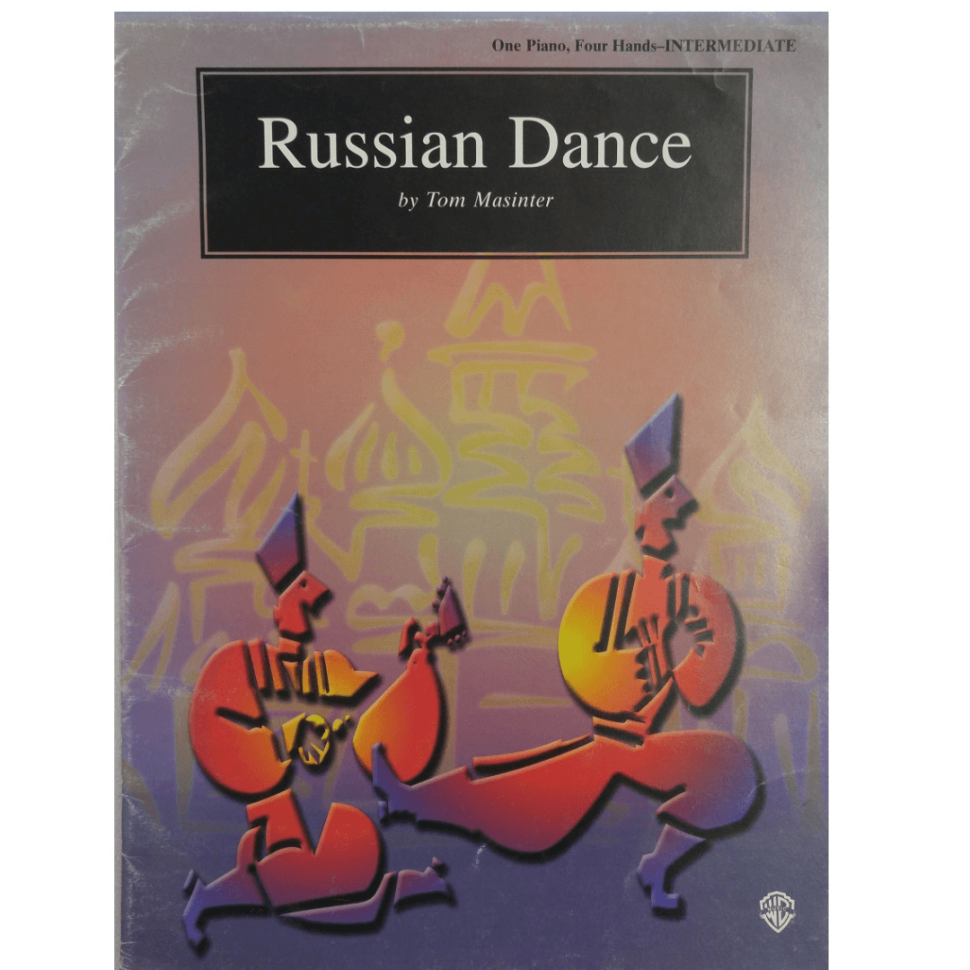 Russian Dance by Tom Masinter - One Piano. Four Hands - Intermediate PAM0104
