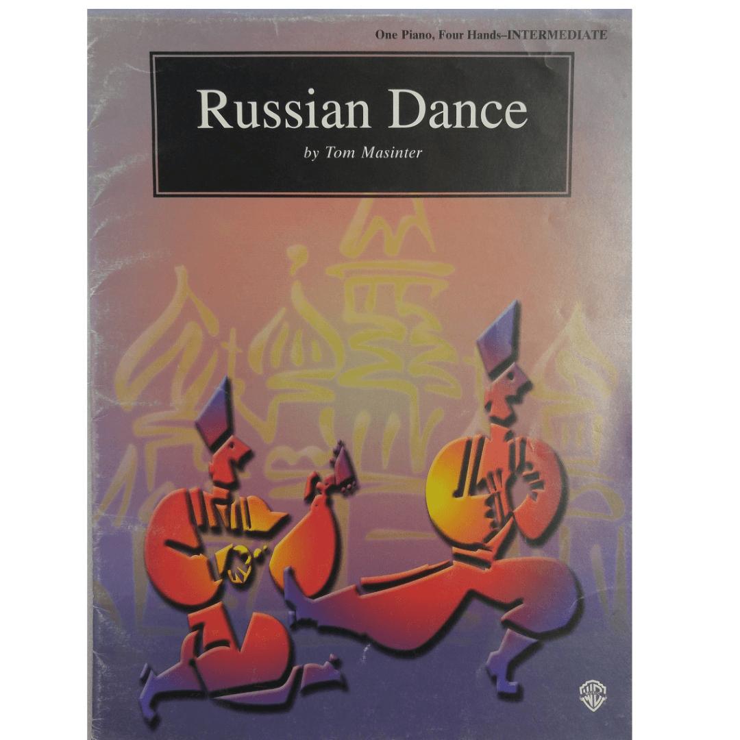 Russian Dance by Tom Masinter - One Piano. Four Hands - Intermediate PAM0104