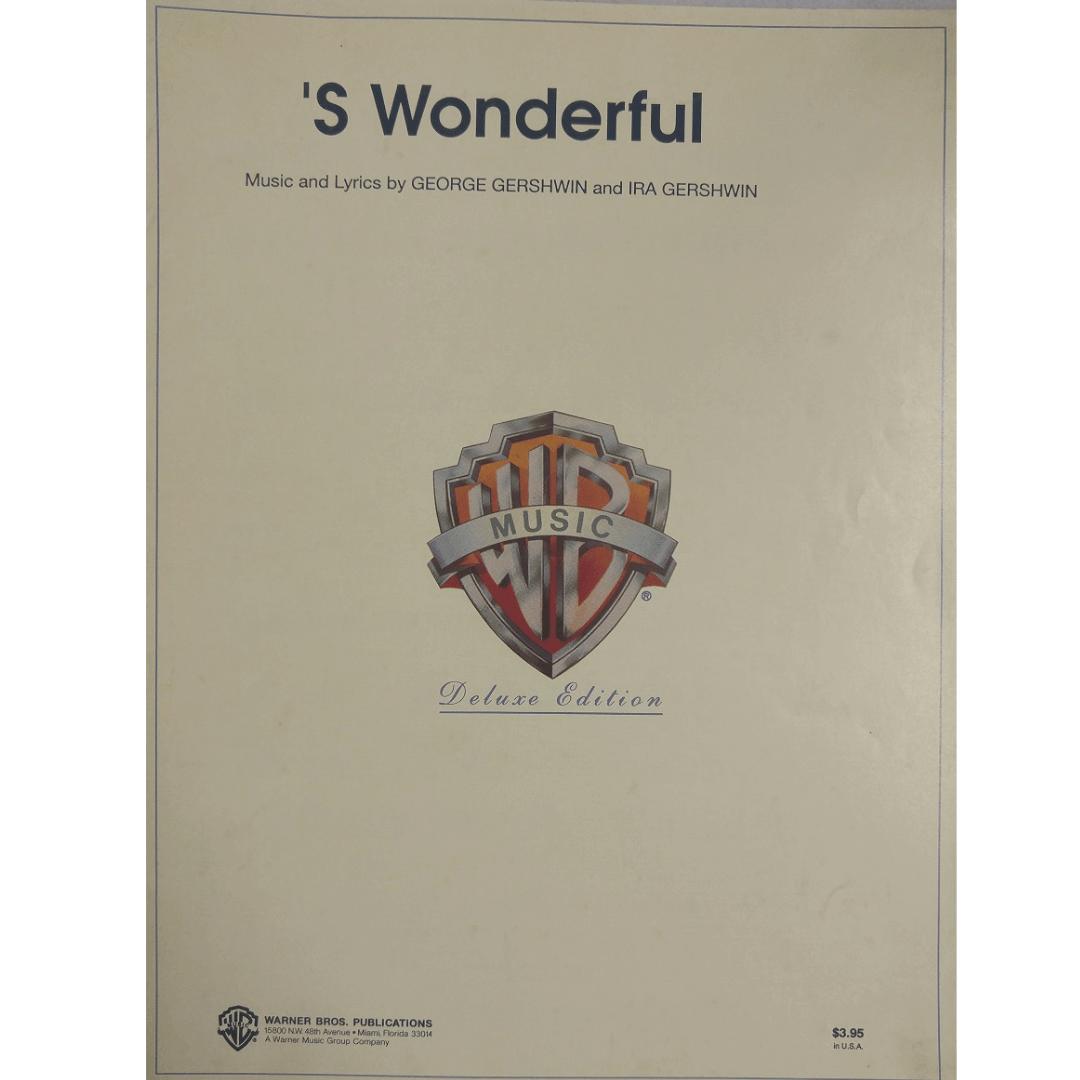 'S Wonderful - Music and Lyrics by George Gershwin and Ira Gershwin VS0392
