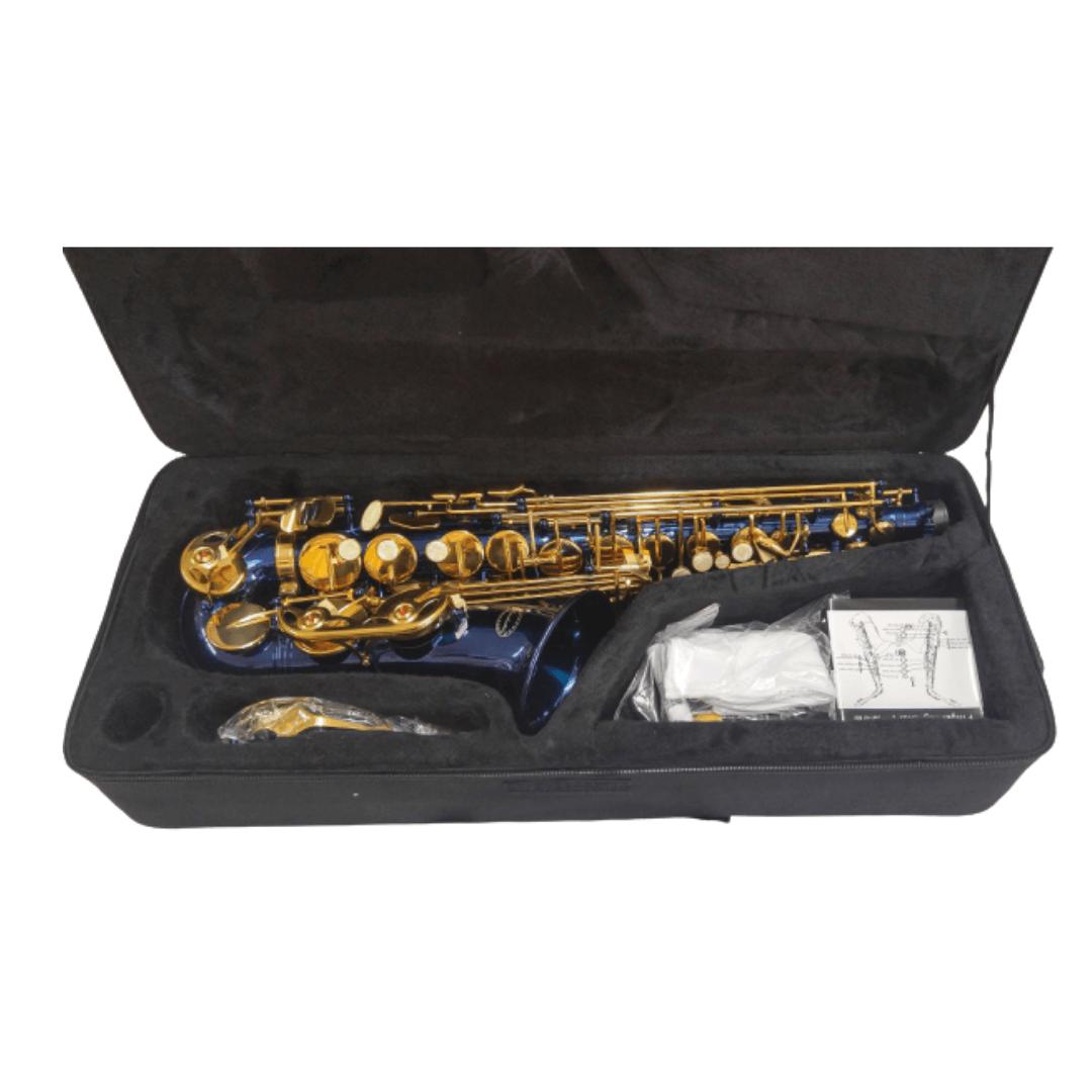 Sax Alto Conductor BL Azul
