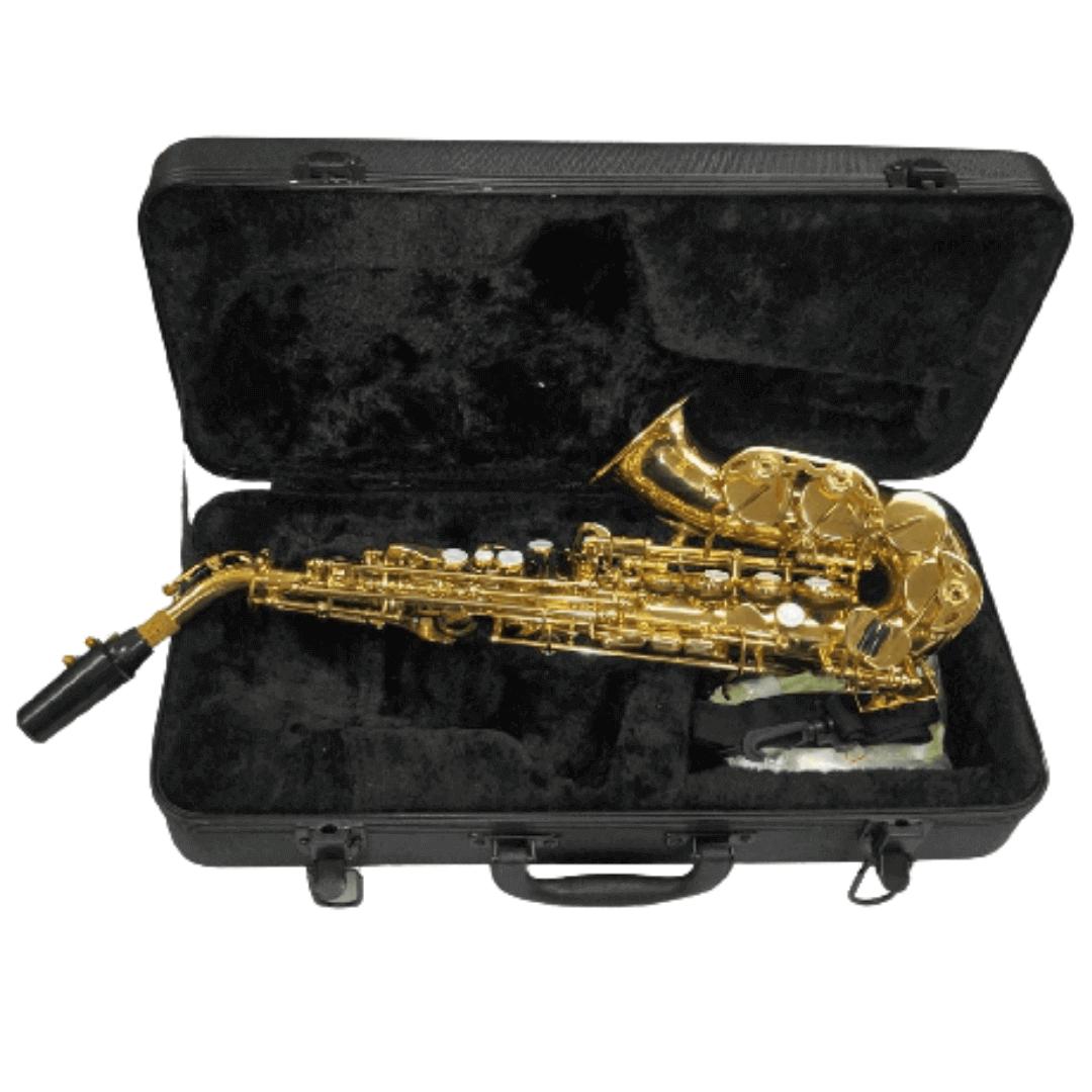 Sax Soprano Curvo Laqueado Sib Ascent JBSSC310L