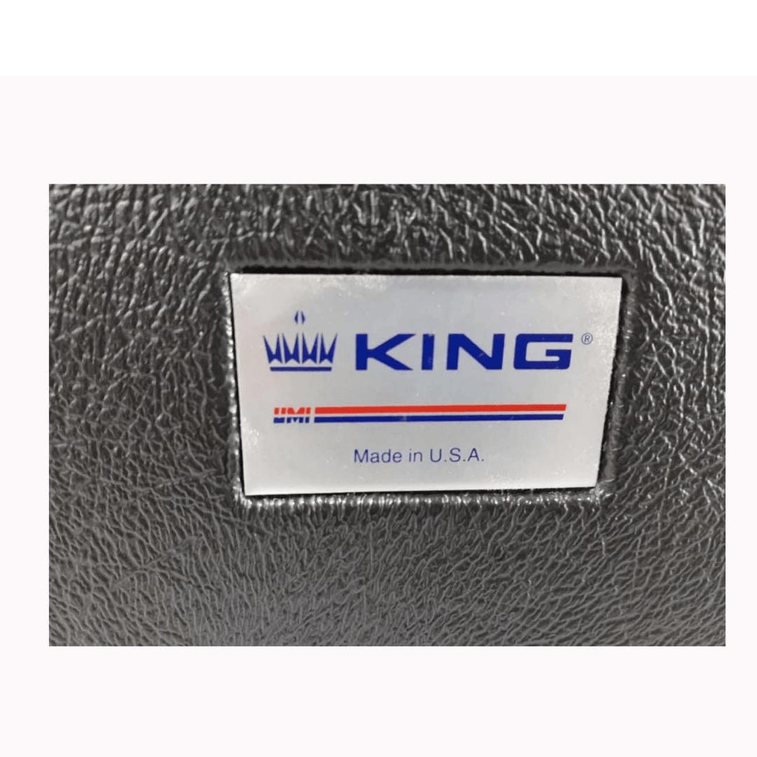 Sax Tenor King 662 Americano U.S.A Com Estojo