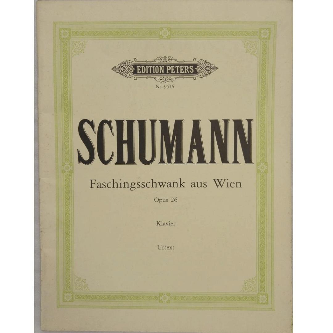 Schumann Faschingsschwank aus Wien Opus 26 Klavier Urtext Edition Peters NR9516