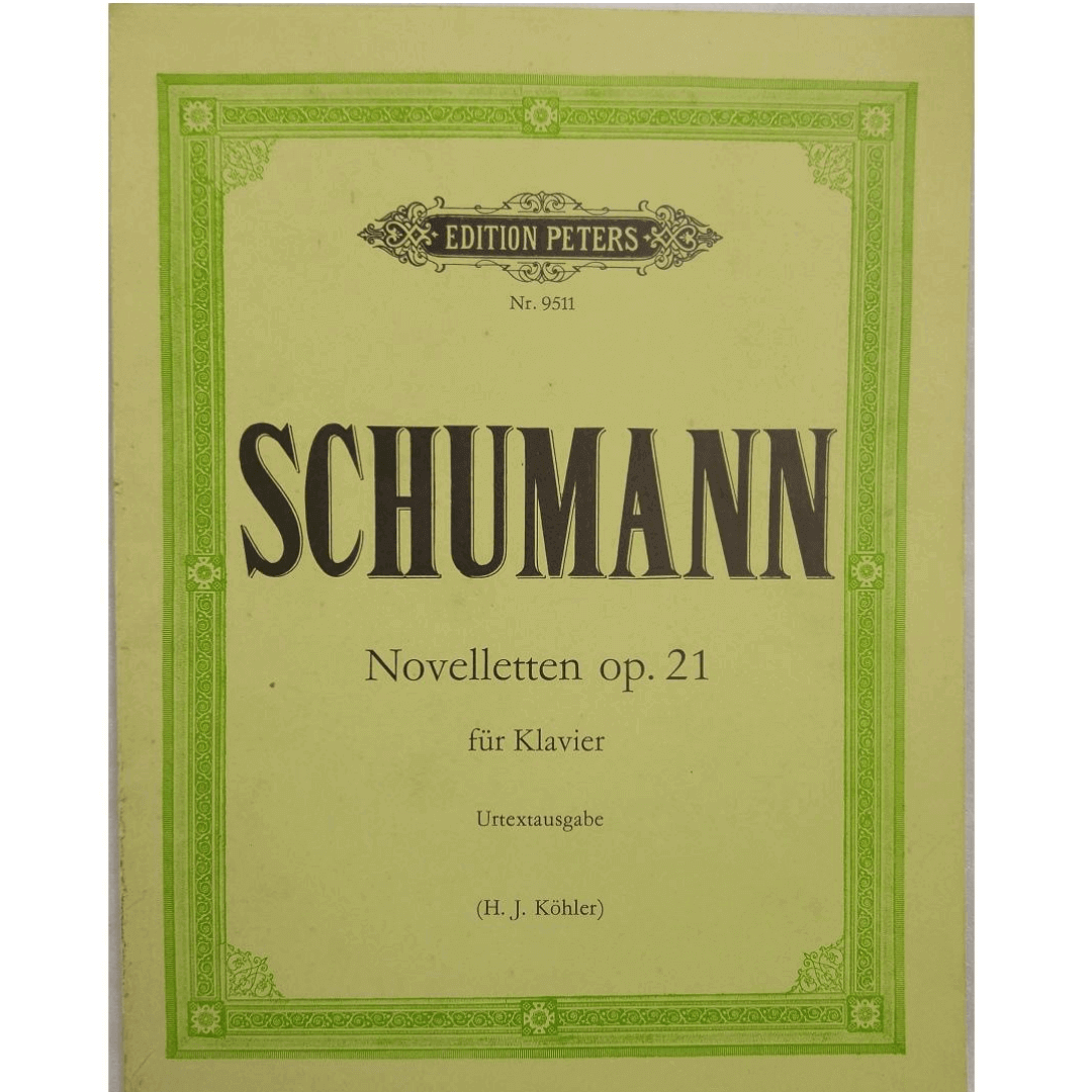Schumann Novellettem op. 21 fur Klavier Urtextausgabe ( H.J.Kohler ) NR9511