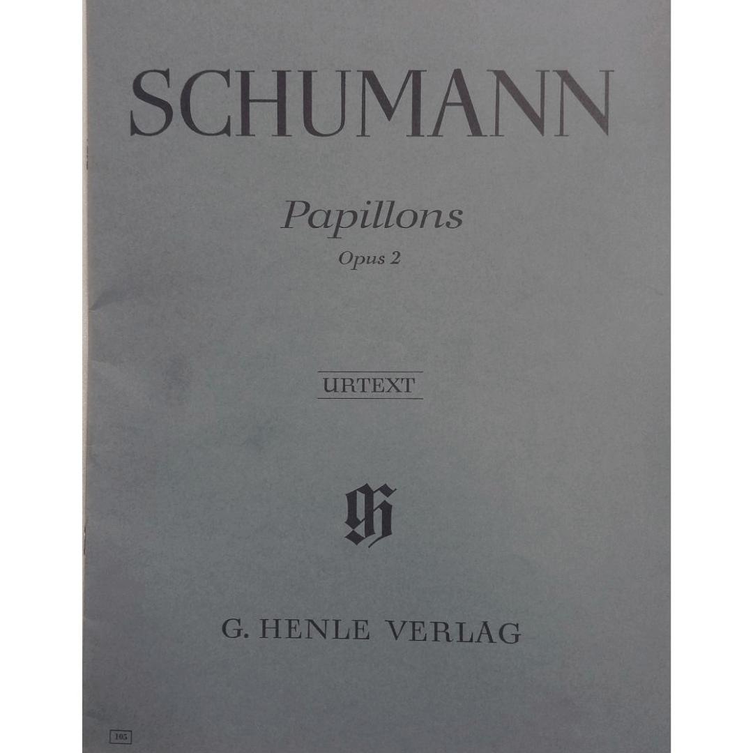 SCHUMANN Papillons Opus 2 Urtext - G. Henle Verlag - 105