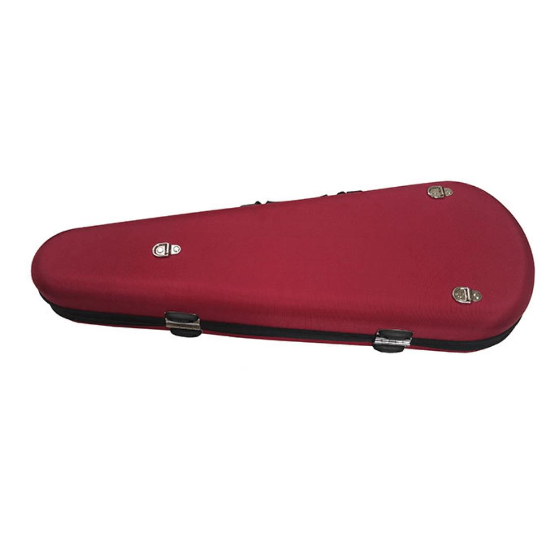 Semi Case / Estojo Formato Gota Rígido Mavis VLS99S  Violino 4/4 Vermelho
