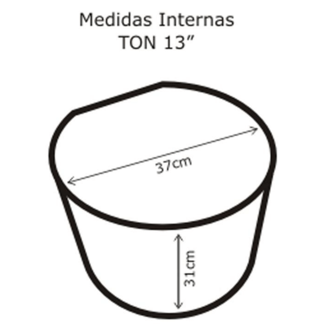 Semi Case para Tom 13'' Solid Sound