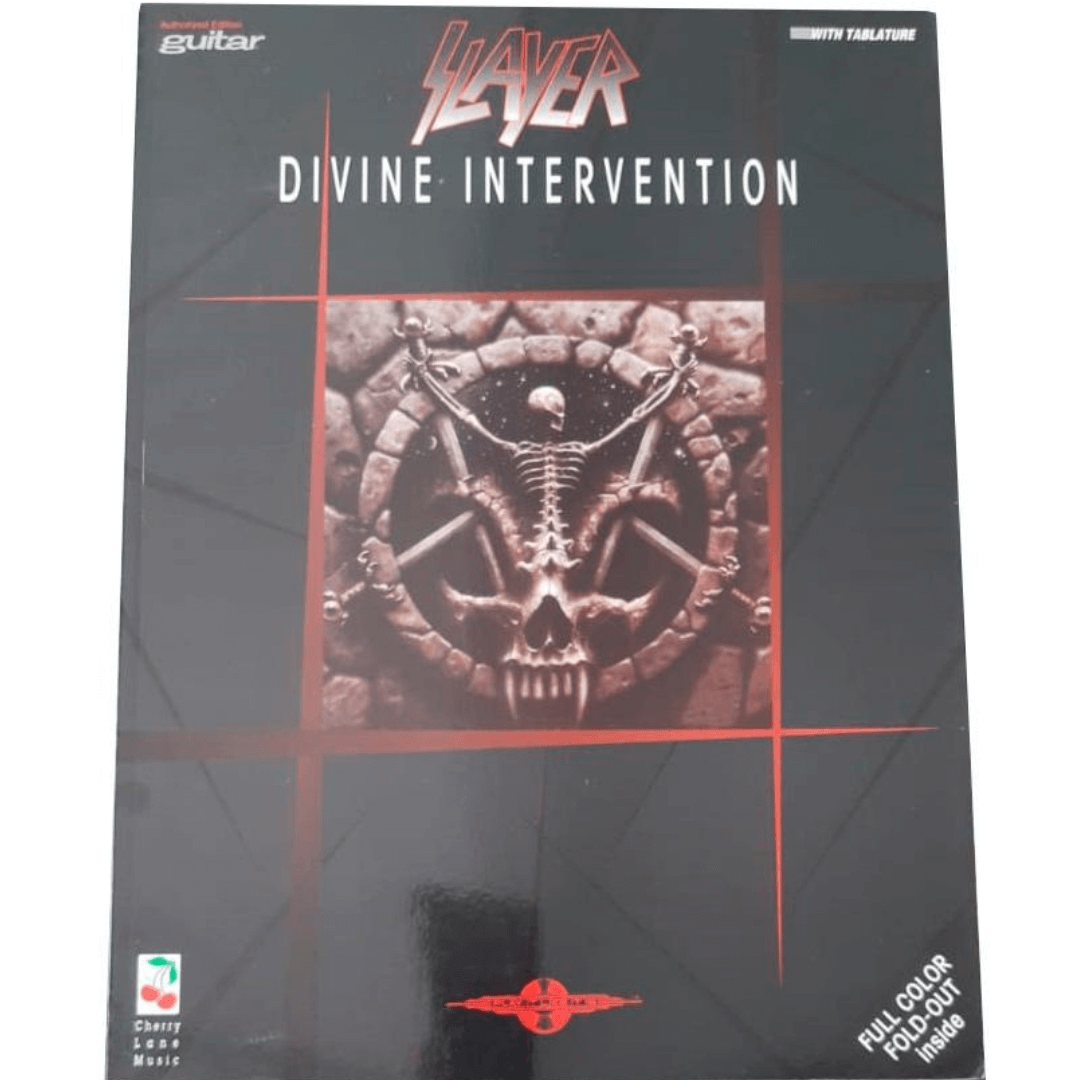 Slayer Divine Intervention - Guitar / Vocal - 02501244