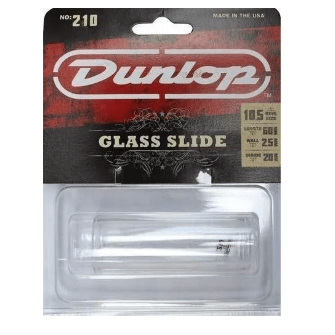 Slide De Vidro Grosso Médio Para Guitarra Violão Dunlop 210