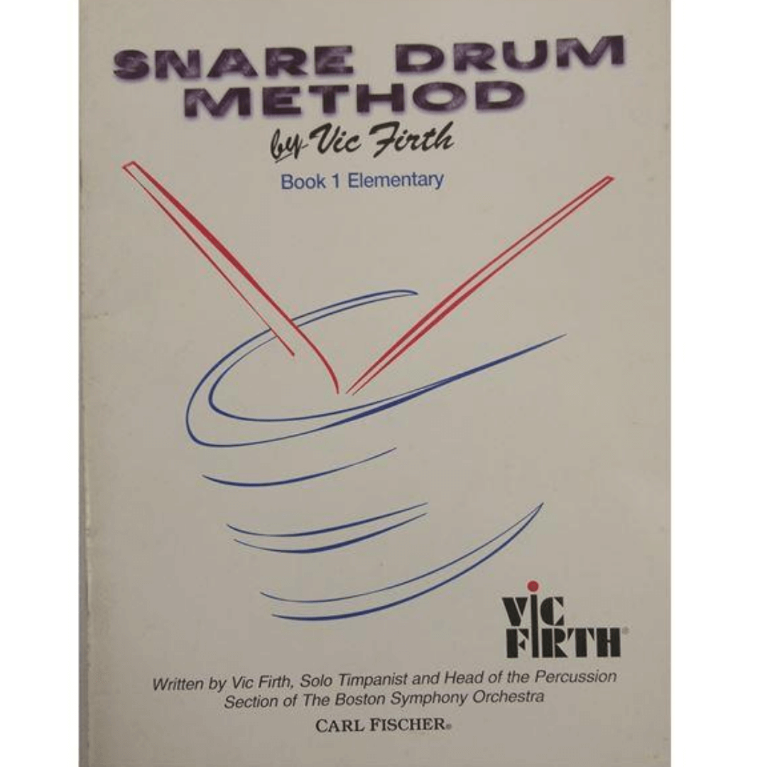 Snare Drum Method by Vic Firth , Book 1 Elementary O4653