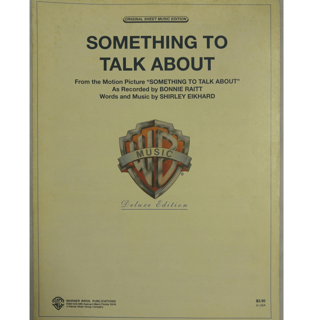 """Something To Talk About - From The Motion Picture """" Something To Talk About"""" - PV95193"""
