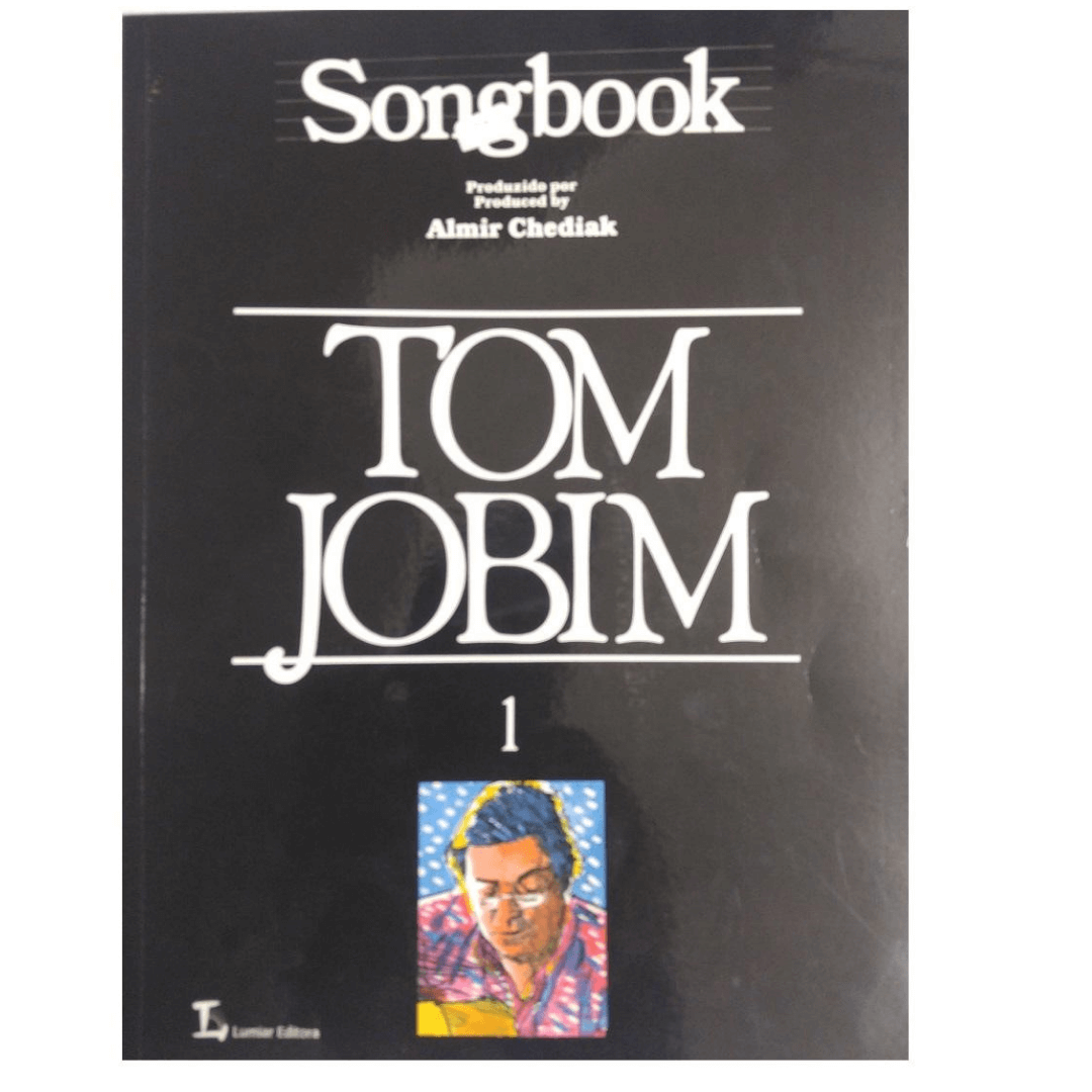 Songbook TOM JOBIM Produzido por Almir Chediak Volume 1 - SBTJ1