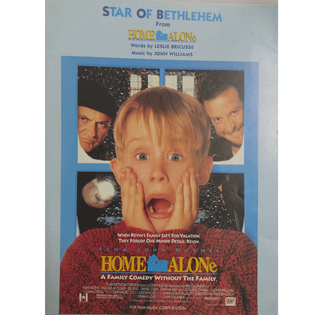 Star Of Bethlehem From Home Alone - Words by Leslie Bricusse - VS5619