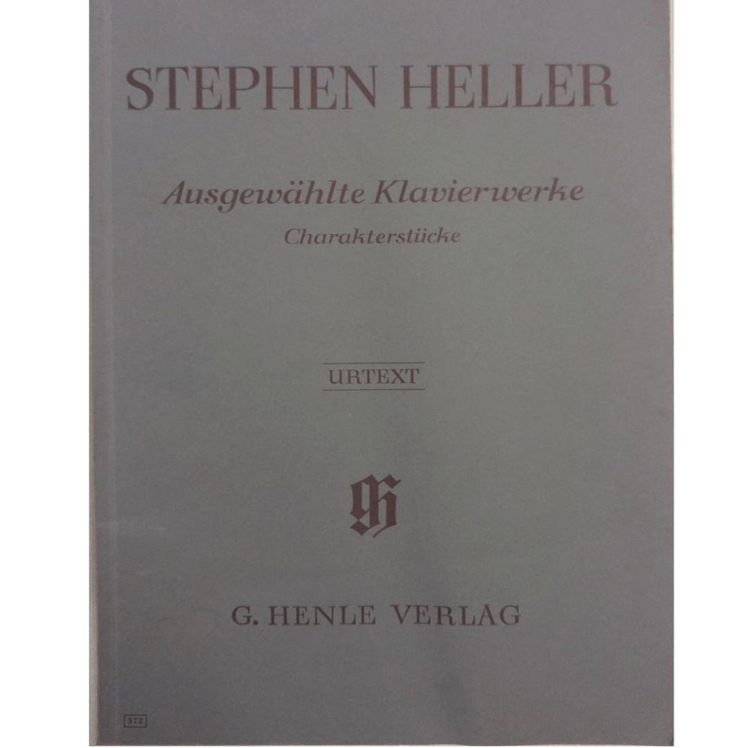 Stephen Heller Ausgewahlte Klavierwerke Charakterstucke - Urtext G.Henle Verlag - 372