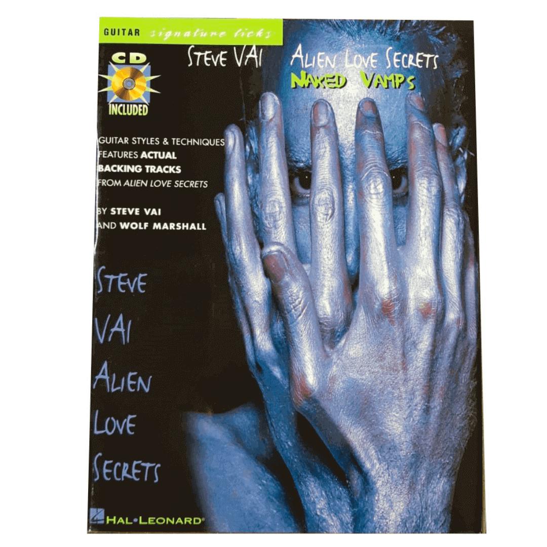 Steve Vai Alien Love Secrets - Naked Vamps Guitar Signature Licks HL00695223