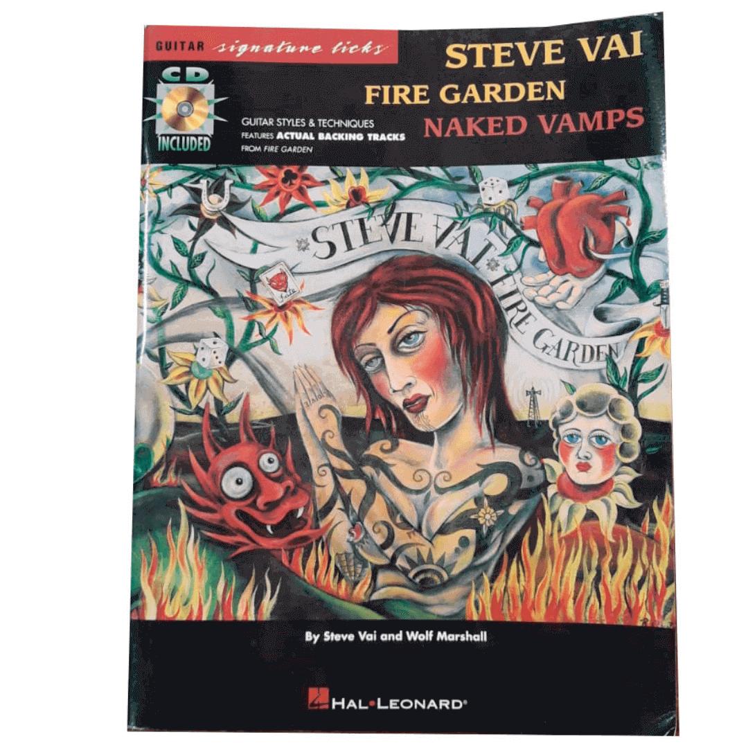 Steve Vai - Fire Garden - Naked Vamps - HL00695166