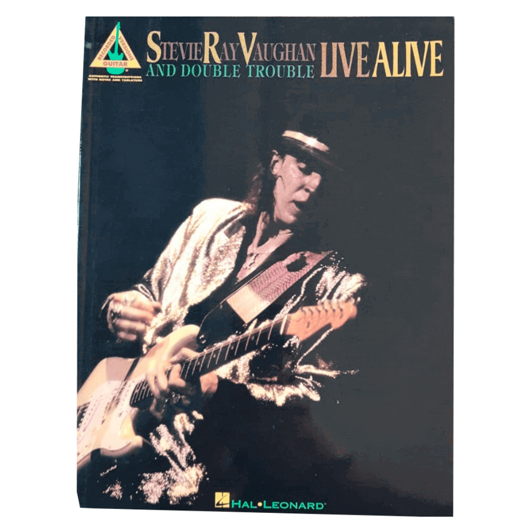 Stevie Ray Vaughan And Double Trouble Live Alive - Guitar Recorded Versions - HL00690036