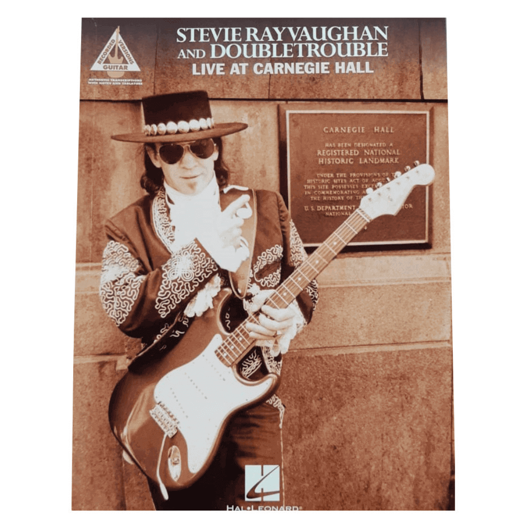Stevie Ray Vaughan And Doubletrouble Live At Carnegie Hall Guitar - HL00690417