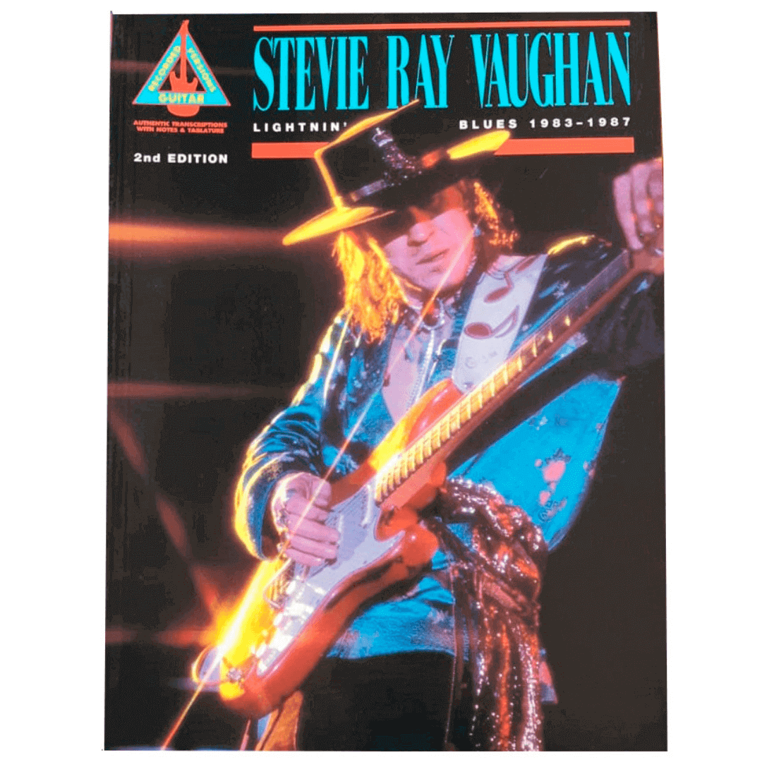 Stevie Ray Vaughan - Lightnin' Blues 1983-1987 Guitar Recorded Versions - HL00660058