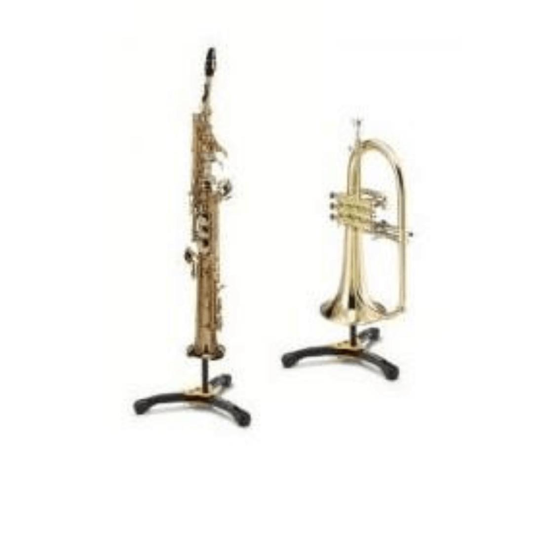 Suporte Hercules DS531BB Stand para Saxofone Soprano / Flugelhorn 5312