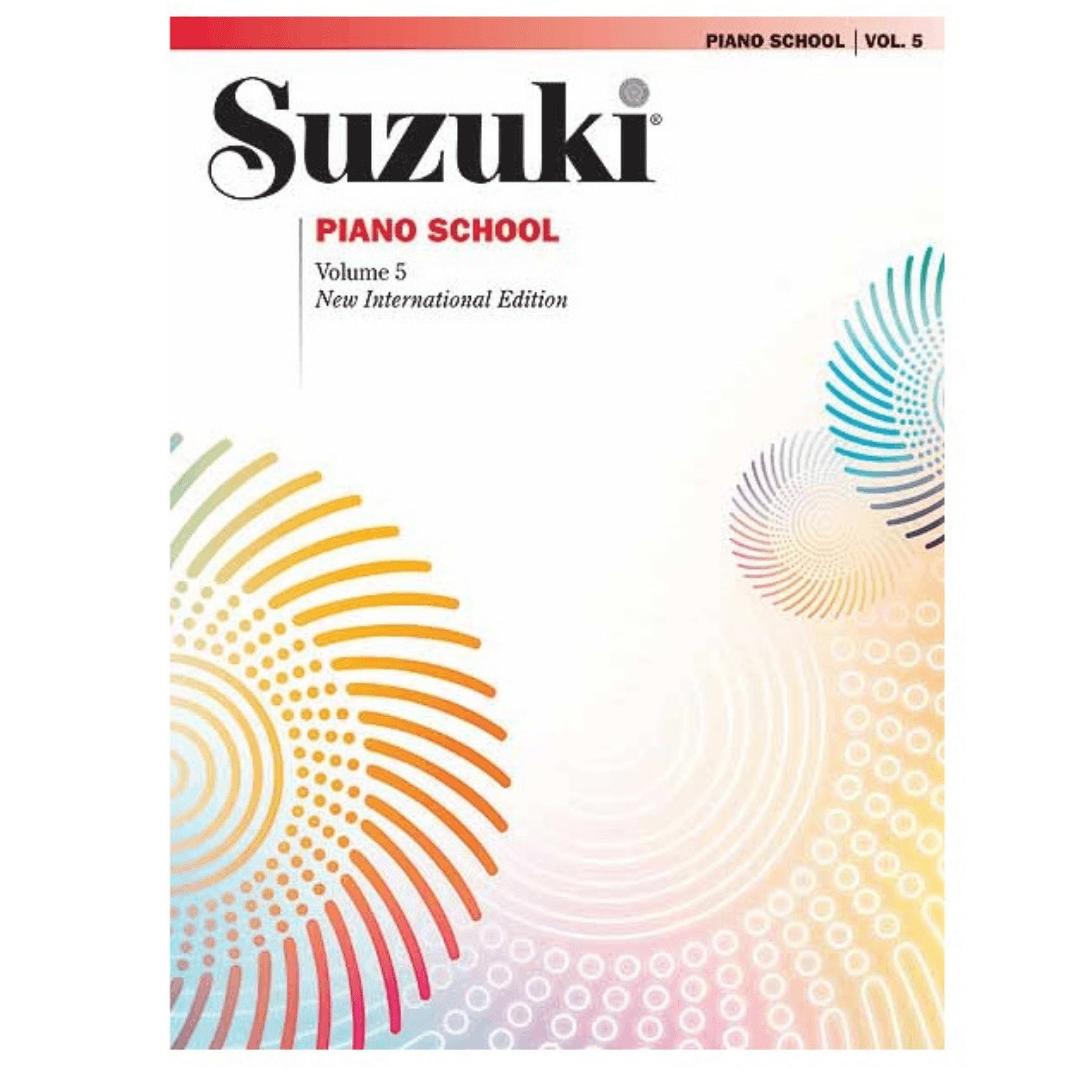 Suzuki Piano School Volume 5 - New International Edition - 0442SX