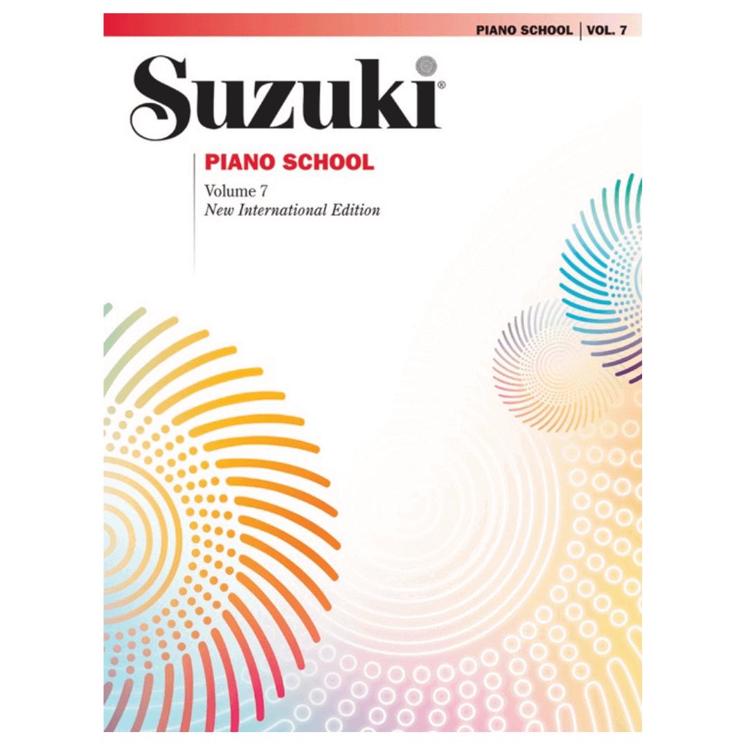 Suzuki Piano School Volume 7 New International Edition 0444SX