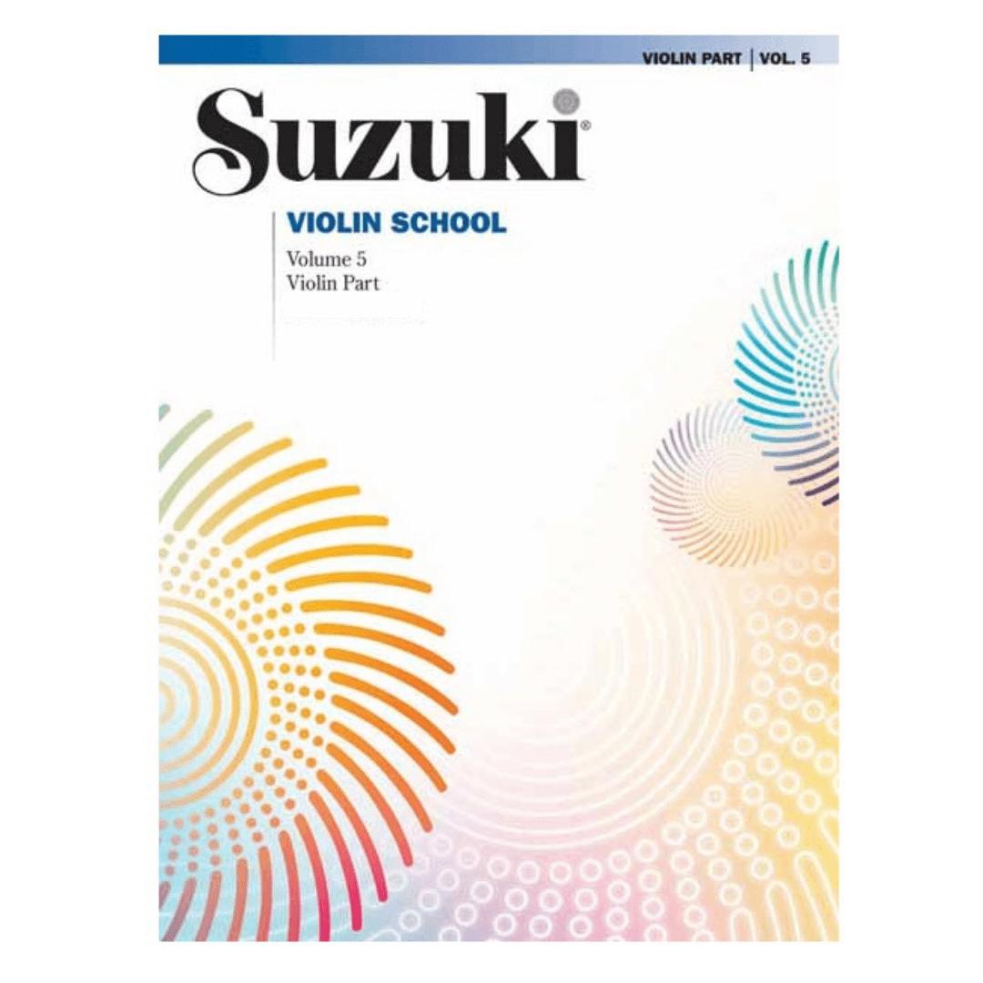 Suzuki Violin School - Vol. 5 - Violin Part - 0152S