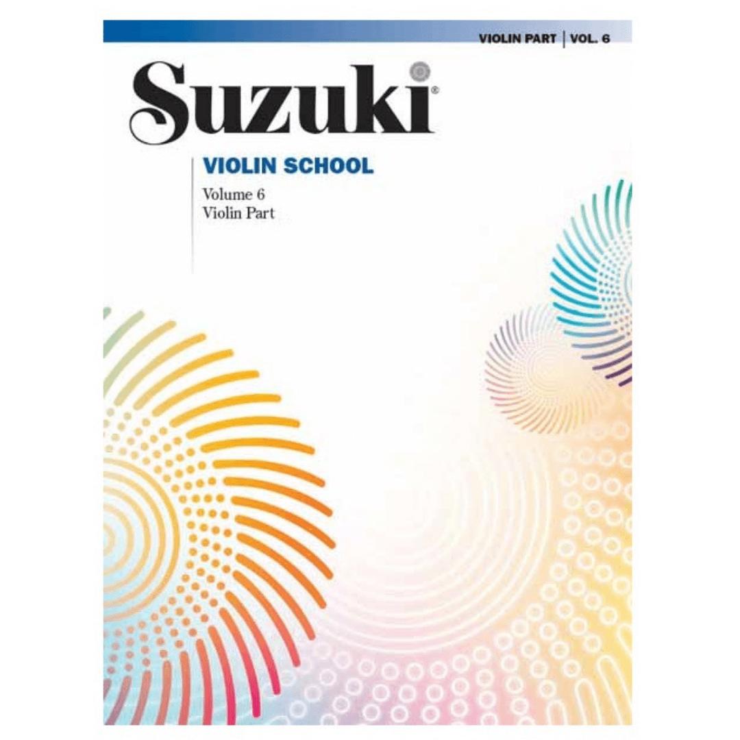 Suzuki Violin School - Vol. 6 - Violin Part - 0154S