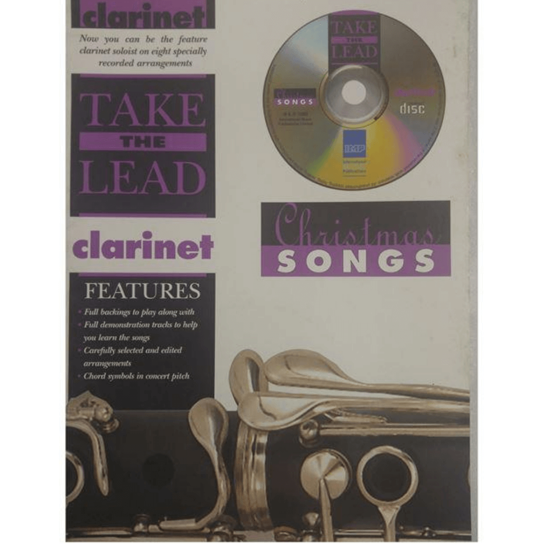 Take the Lead - Christmas Songs Clarinet - Pegue a liderança - Canções de Natal - Clarinete - Com CD 7023A