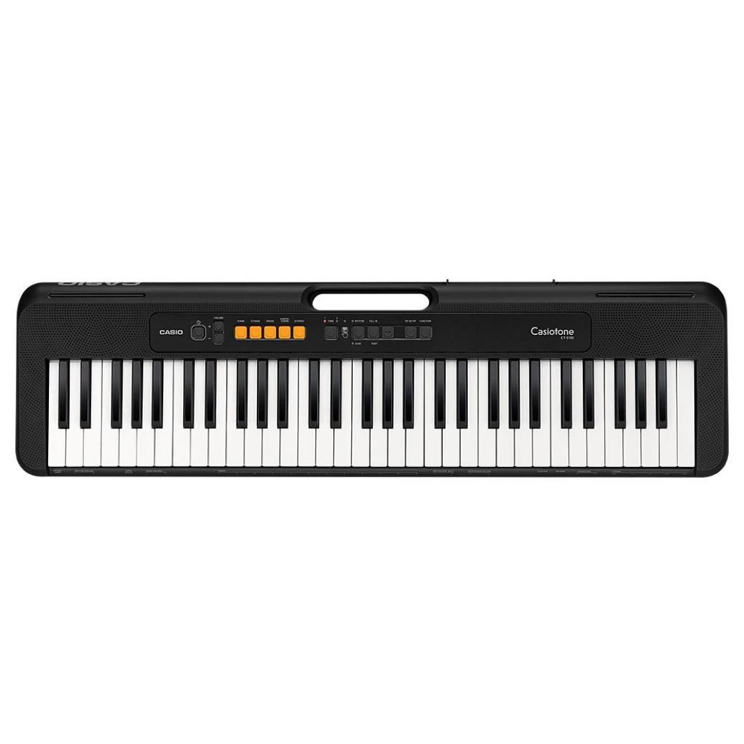 Teclado Musical Digital Casiotone CTS100 Casio Preto 61 Teclas