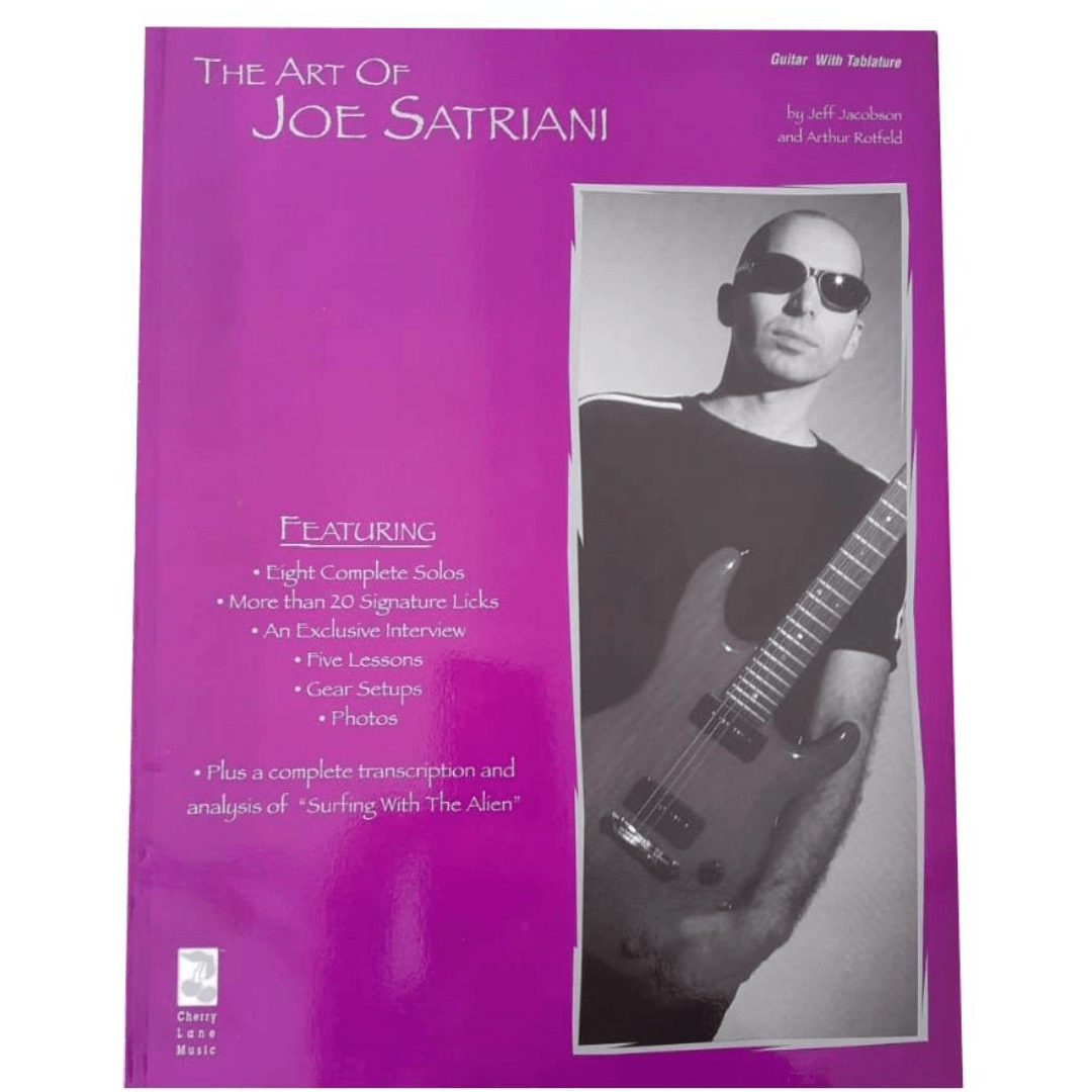 The Art of Joe Satriani - Guitar With Tablature by Jeff Jacobson and Arthur Rotfeld - HL02506330