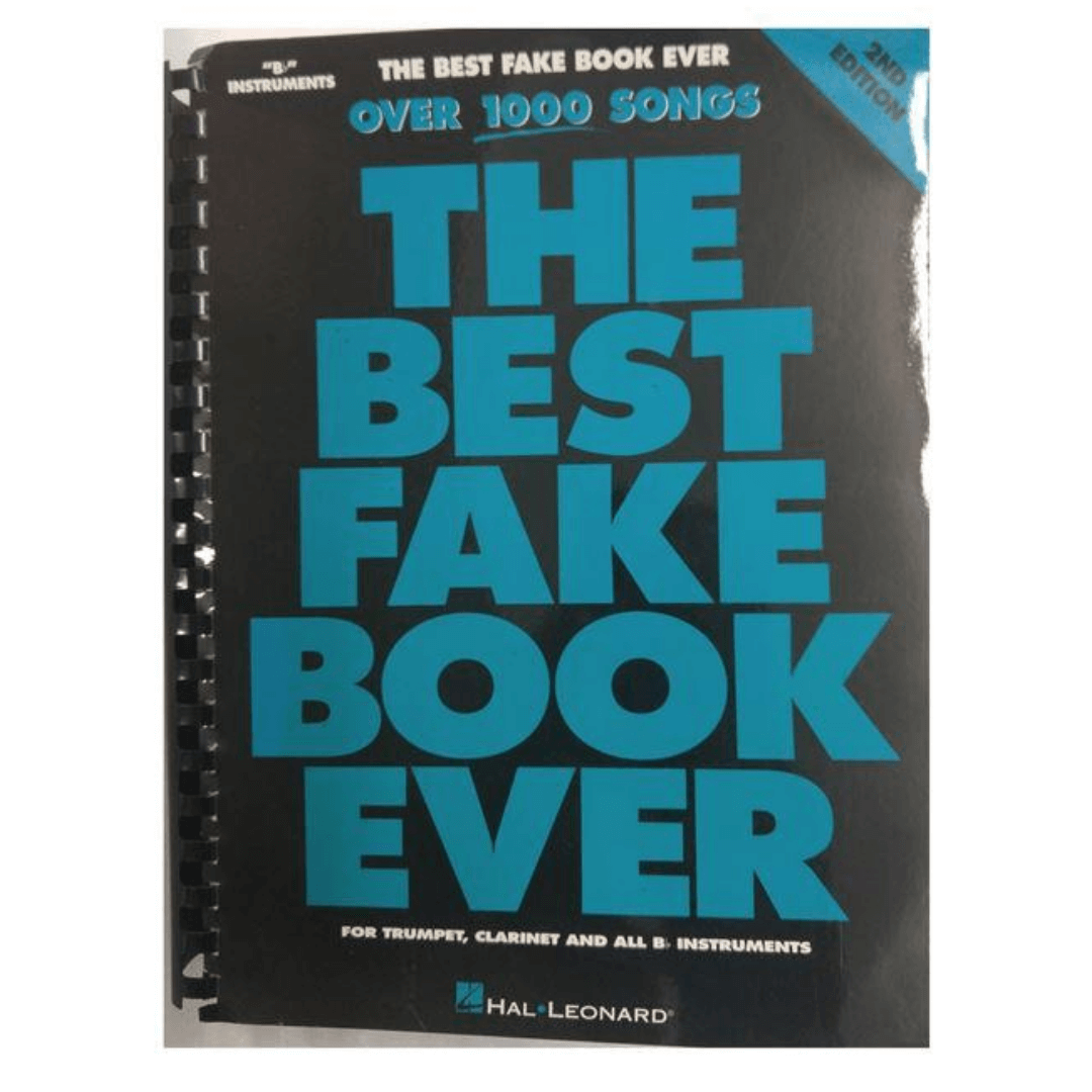 The Best Fake Book Ever - Over 1000 Songs - 2ND Edition - para trompete, clarinete e instr. Bb