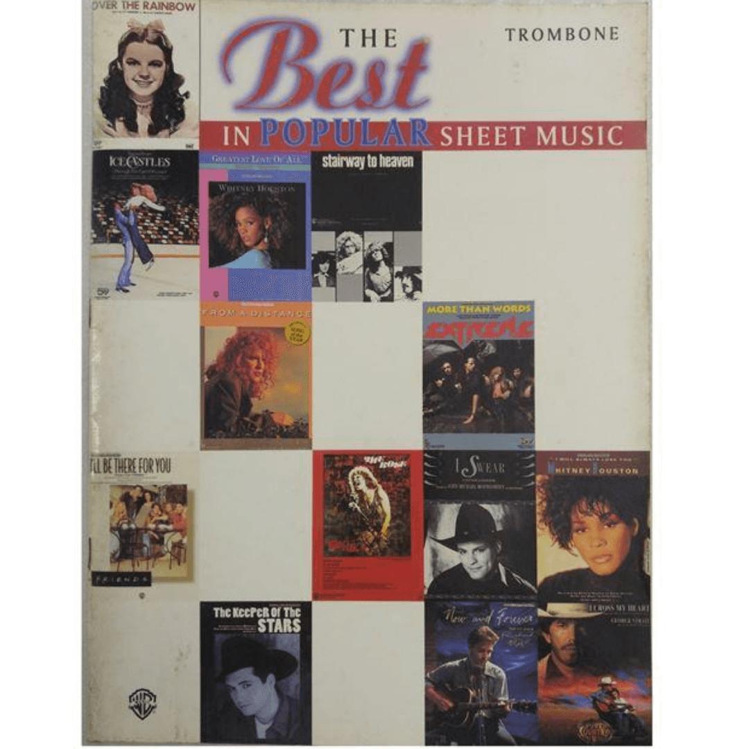 The Best in Popular Sheet Music ( A melhor partitura popular ) para Trombone IF9553