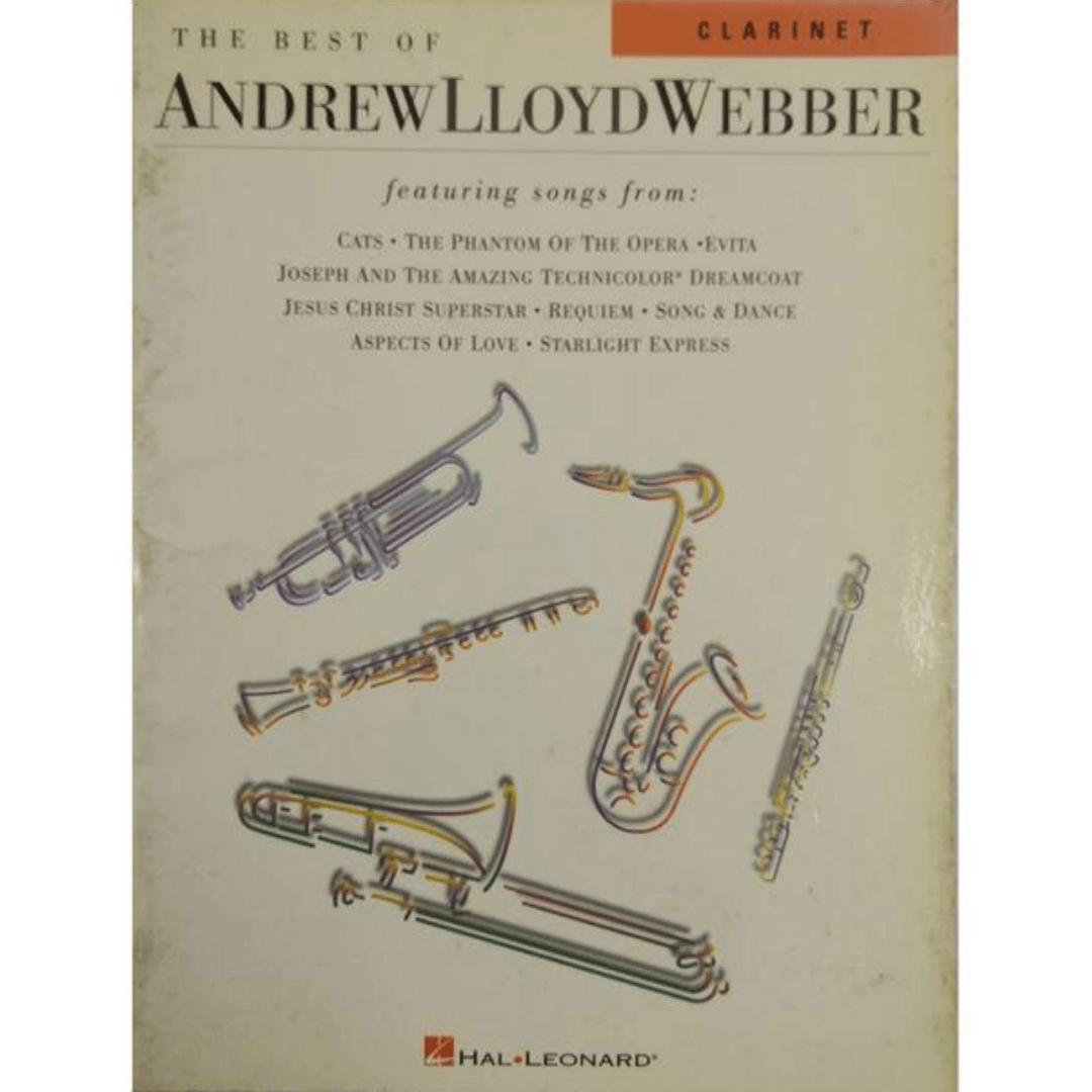The Best of Andrew Lloyd Webber para Clarinete - 34291