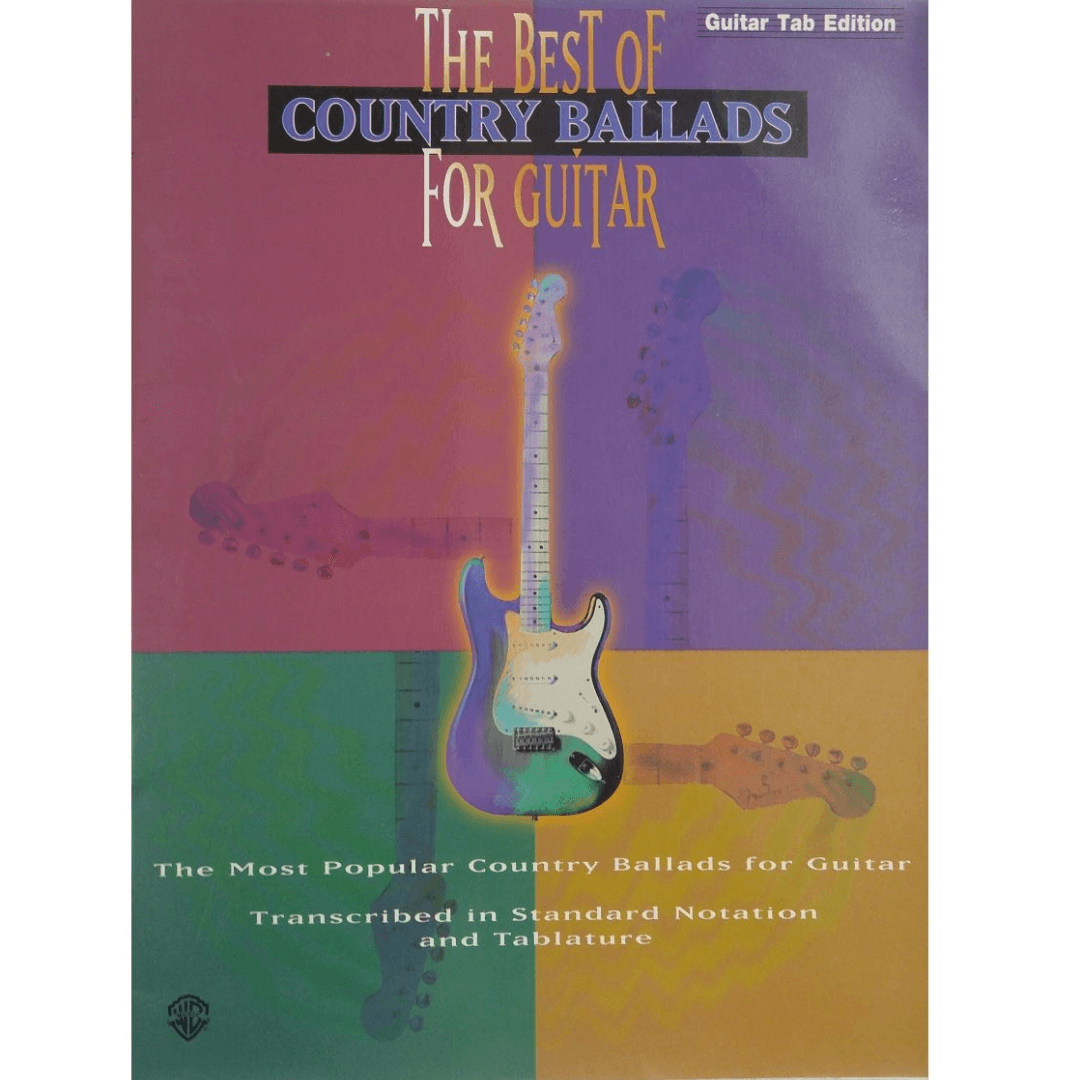 The Best Of Country Ballads For Guitar ( Guitar Tab Edition ) - GF9503