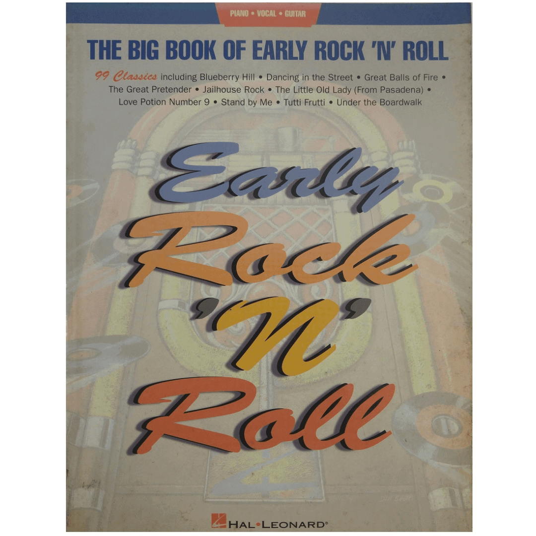 The Big Book of Early Rock 'N' Roll Piano, Vocal e Guitar HL00310398