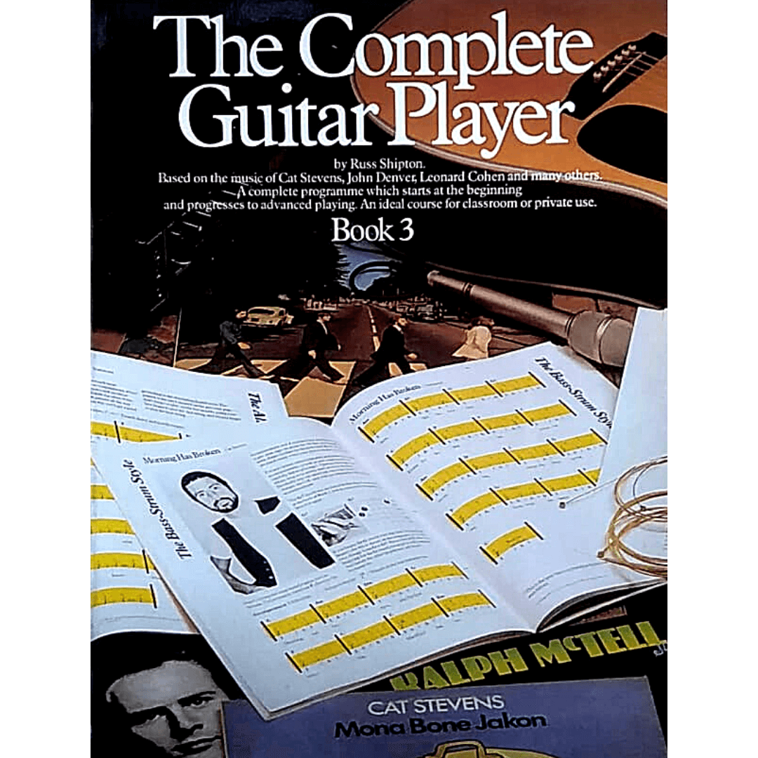 The Complete Guitar Player Book 3 - AM25149