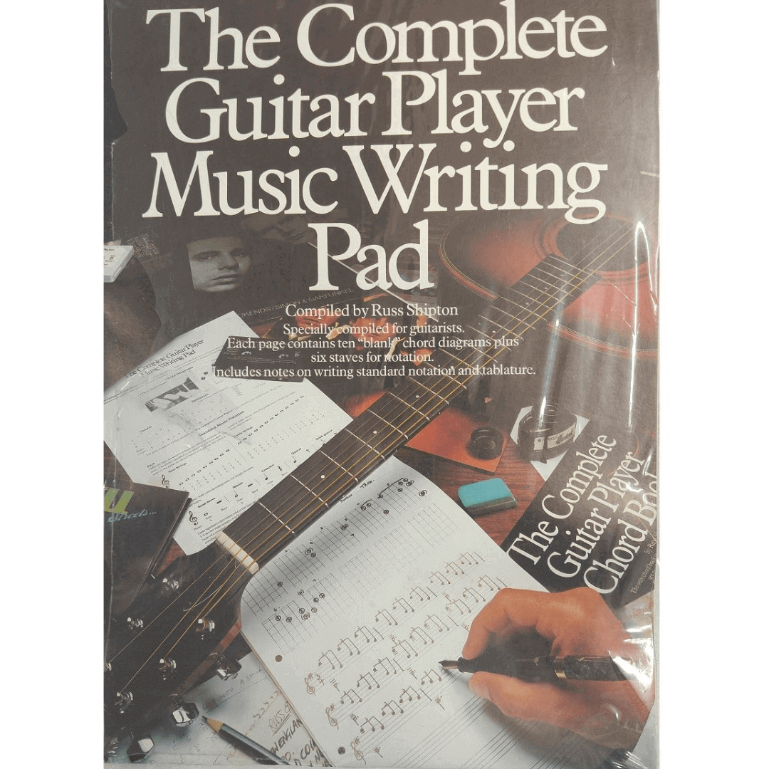 The Complete Guitar Player Music Writing Pad - AM34216