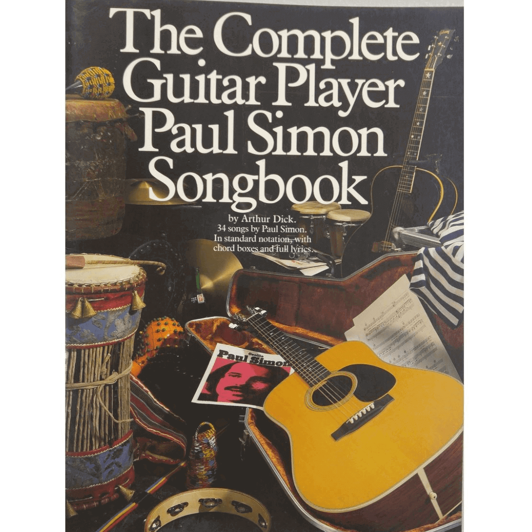 The Complete Guitar Player Paul Simon Songbook by Arthur Dick - PS10875