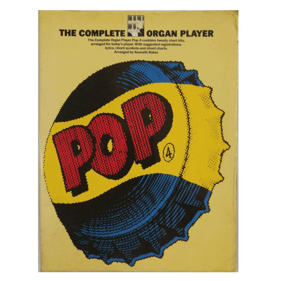 The complete Organ Player Pop 4 ( O jogador de órgão completo pop 4 ) AM79310