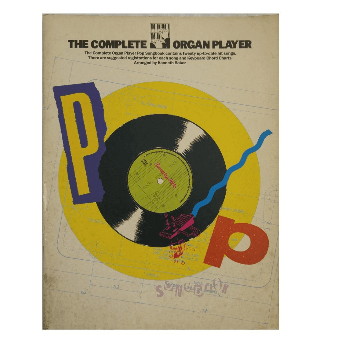 The complete organ player Pop Songbook ( O álbum completo do órgão Pop Songbook ) AM61433