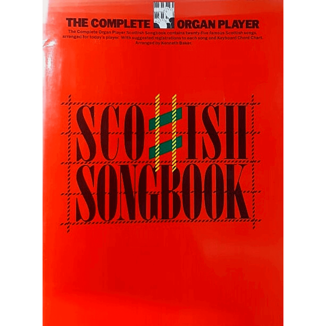 The Complete Organ Player Scottish Songbook - AM37870
