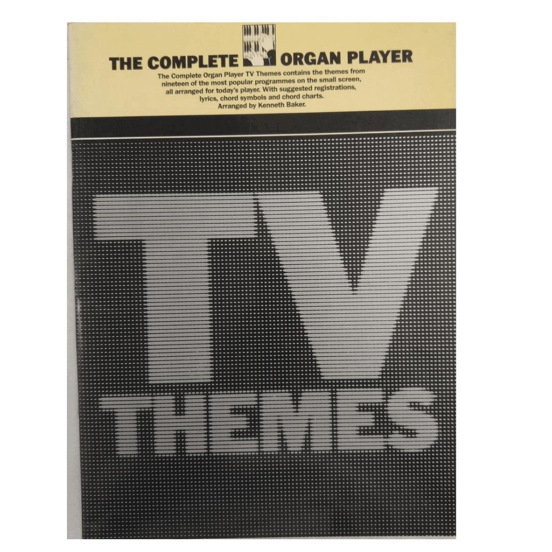 The complete Organ Player TV Themes ( Os temas completos da TV do jogador de órgão) AM83981