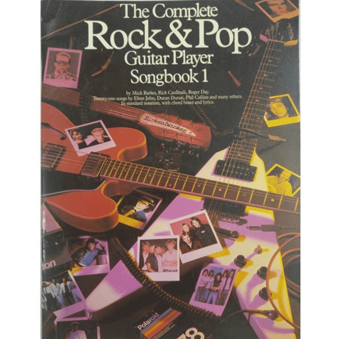 The Complete Rock Guitar by Fred Sokolow - Soundsheet included! - SB126
