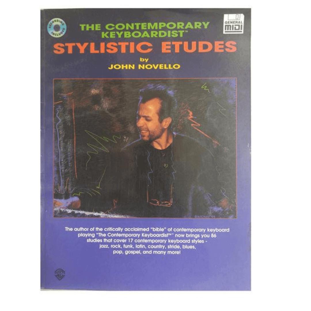 The Contemporary Keyboardist Stylistic Etudes by John Novello - EL9515CDM