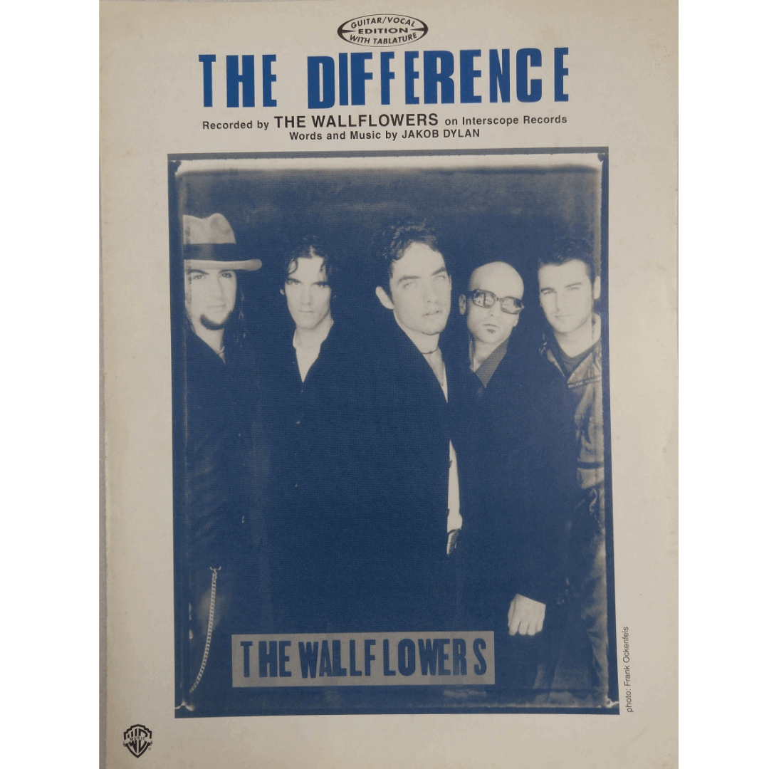 The Difference Recorded by The Wallflowers on Interscope Records GV9709
