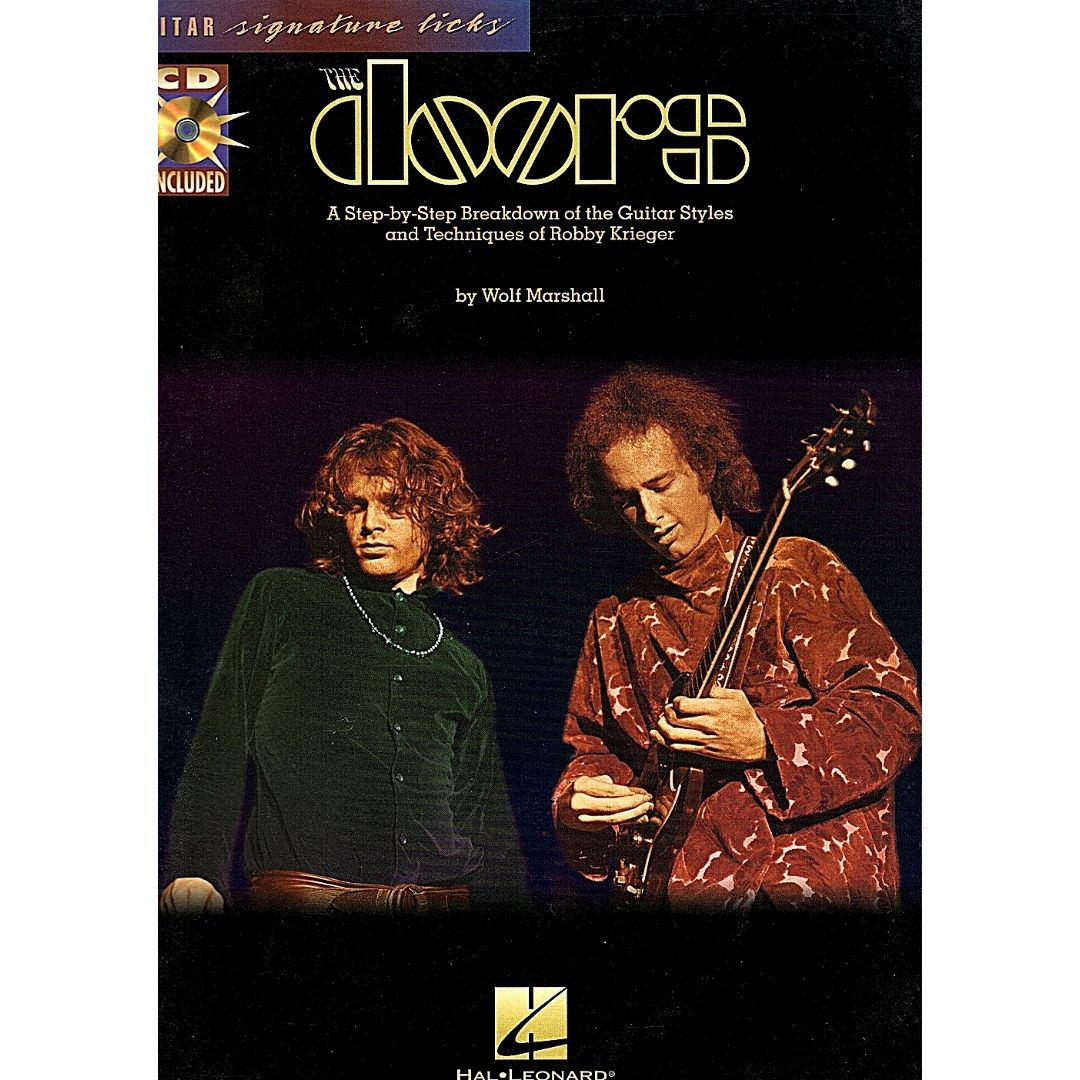 The Doors A Step-by-Step Breakdown if The Guitar Styles And Techniques of Robby Krieger - HL00695373