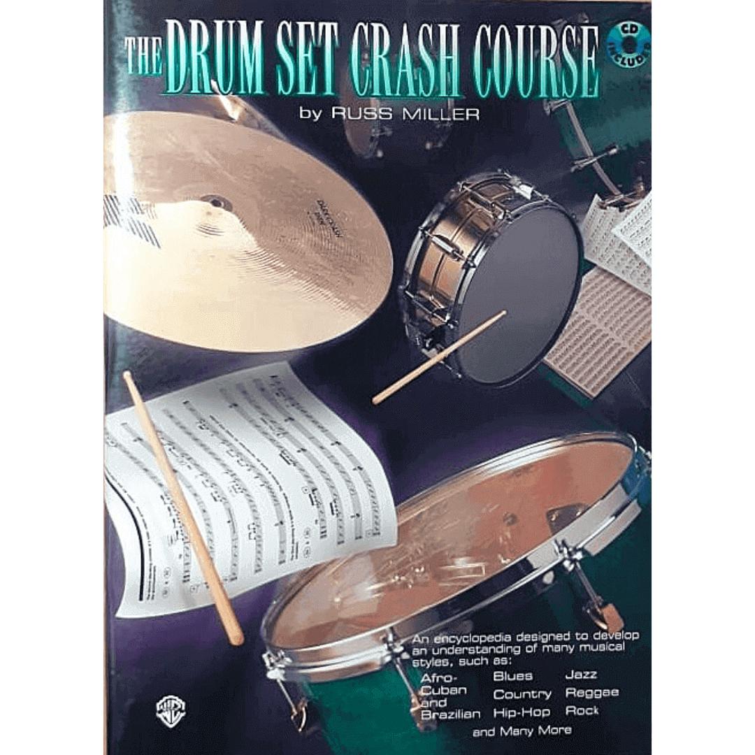 The Drum Set Crash Course by Russ Miller - PERC9611CD
